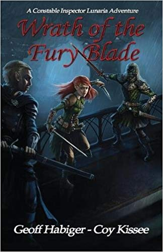 Wrath of the Fury Blade Book
